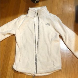 Women's North Face white Osito jacket adult XS